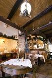 Restaurante rústico Foto de archivo libre de regalías