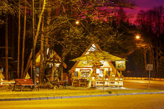 Restaurante regional Kolibecka em Zakopane Foto de Stock