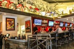 Restaurante retro Foto de Stock Royalty Free