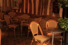 Restaurante retro acolhedor imagens de stock