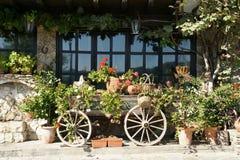 Restaurante rural Foto de archivo libre de regalías