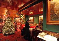 Restaurante ruso en Nueva York, los E.E.U.U. Fotografía de archivo libre de regalías