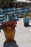 Restaurante siciliano Imagen de archivo libre de regalías