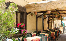 Restaurante típico Imagen de archivo