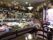 Restaurante típico en Siena Imagen de archivo