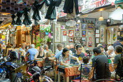 Restaurante tailandés en Hua Hin Fotos de archivo libres de regalías