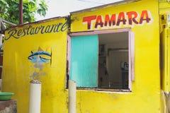 Restaurante Tamara, San Andrés Stock Photos