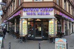 Restaurante turco, Alemanha foto de stock royalty free