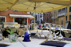Restaurante vacío Imagenes de archivo