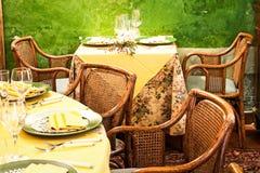 Restaurante italiano Fotografia de Stock