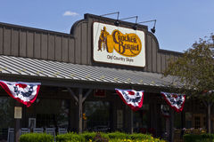Restaurante viejo V de la tienda rural del barril de la galleta Imagenes de archivo