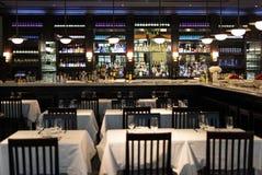 Restaurante y barra imagenes de archivo