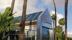 Restaurante y cafés en el parque centenario Coronado - CALIFORNIA, los E.E.U.U. - 18 DE MARZO DE 2019 almacen de video