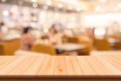 Restaurante y fondo borroso cafetería Imagenes de archivo
