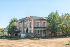 Restaurante y hotel viejos del molino en el Barkly-este Foto de archivo