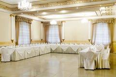 Restaurantereignis Bankett, Hochzeit, Feier Stockbild