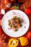 Restaurantes de Budan Imágenes de archivo libres de regalías