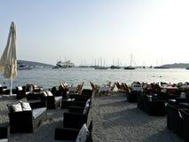 Restaurantes em Bodrum, Turquia Fotografia de Stock Royalty Free