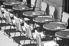Restaurantes em Paris fotografia de stock royalty free