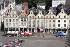 Restaurantes en el Arras, Francia Imagenes de archivo