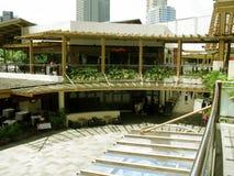 Restaurantes exóticos, zona verde 3, Makati, Filipinas Fotografía de archivo
