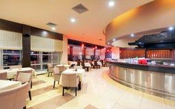 Restaurantinnenraum stockbilder