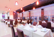 Restaurantinnenraum lizenzfreie stockfotografie