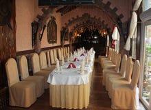 Restaurantinnenraum Stockfoto