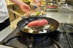 Restaurantküche lizenzfreie stockfotografie