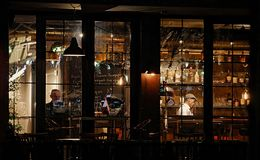 Restaurantleben Lizenzfreie Stockfotografie