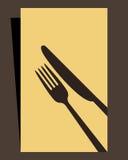 Restaurantmenü Lizenzfreies Stockfoto