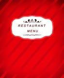 Restaurantmenüikone Lizenzfreies Stockbild