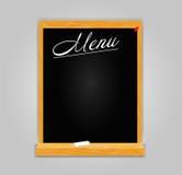 Restaurantmenüschablone im Retrostilvektor Stockfoto