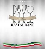 Restaurantmenu vector illustratie