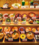 Restaurantmenu, Kyoto, Japan Stock Fotografie