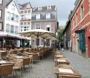 Restaurants in Aachen Royalty Free Stock Photos