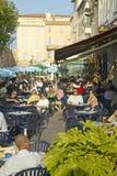 Restaurants, Antibes, France Royalty Free Stock Image