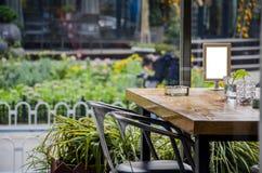 Restaurants, bars, cafes or tea house Royalty Free Stock Photography