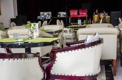 Restaurants, bars, cafes or tea house Stock Image