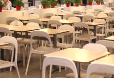 Restaurants,Chair and Table ,. Chair and Table in Bar Stock Images