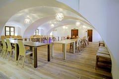 Restaurants dans l'hôtel photographie stock