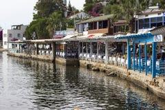 Restaurants de poissons Photos libres de droits