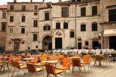 Restaurants in Dubrovnik, Croatia Stock Photos