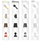 Restaurants, fast ,food and other web icon in cartoon style.Accessories, food, cafes icons in set collection. Restaurants, fast ,food and other icon in cartoon royalty free illustration