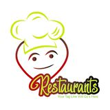 Restaurants logo and icon. This is the restaurants logo and icon royalty free illustration