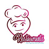 Restaurants logo and icon. This is the restaurants logo and icon vector illustration