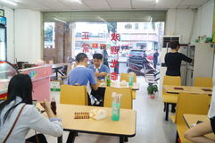 Restaurants occasionnels Photographie stock