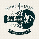 Restaurants or seafood shops Stock Photography