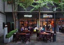 Restaurants,Shanghai ,China Royalty Free Stock Photos
