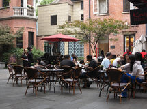 Restaurants,Shanghai ,China Stock Photo